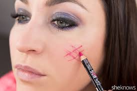 fastest glam party makeup tutorial step 11