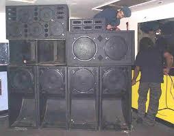 reggae sound system equipment. getting ready - wiring up jah tubbys world system reggae sound equipment u