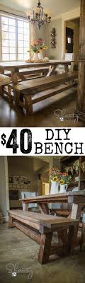 Kitchen Tables With Benches 25 Best Ideas About Dining Table Bench On Pinterest Farmhouse