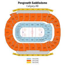 Scotiabank Saddledome Seating Chart Views Reviews