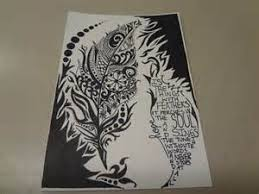 Creativity Cool Designs To Draw With Sharpie On Paper Intended Impressive Ideas