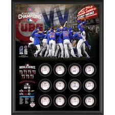 cubs world series chs shadow box