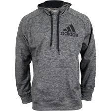 adidas hoodie mens. adidas men`s pullover hoodie dark gray heather ($45) ❤ liked on polyvore mens
