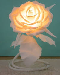 Paper Flower Lamp 46 How To Make Paper Flowers With Lights 2019