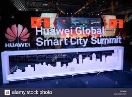 Huawei Global Smart City Summit logo is ...