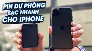 Pin dự phòng sạc nhanh 18W cho iPhone - 30 phút được 50%! Xuất sắc! -  YouTube