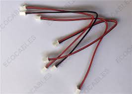 ul1007 22awg black red 2p glued cable jst wire harness jst ul1007 22awg black red 2p glued cable jst wire harness jst xhp 2 connector