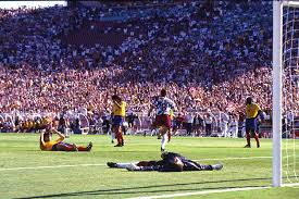 Andres escobar's assassination shocked the world when he was gunned down by a gangland figure ten days after scoring an own goal against the us in the tournament hosted by america. Colombia The Rise And Fall Of Narco Soccer Center For Latin American Studies Clas