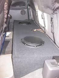 subwoofer box for an extended cab - DodgeForum.com
