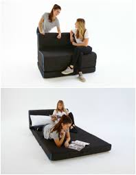 affordable space saving furniture. Cool Foot Stool Turns Into A Bed In Seconds Affordable Space Saving Furniture E