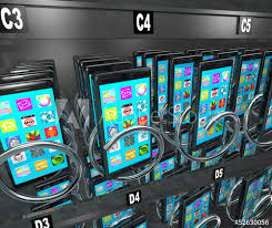 Vending Machine That Buys Cell Phones Inspiration Smart Phone Cellphone Vending Machine Buying Telephone Buy This