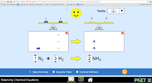 secondary chemistry simulations by phet open source physics balancing chemical equations applet tessshlo balancing chemical equations conservation