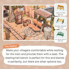how to build a train station in animal