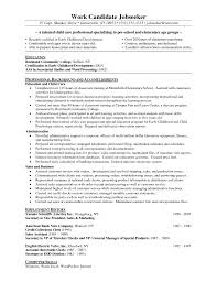 Secretary Resume Sample Complete Guide 20 Examples In School - Sradd.me