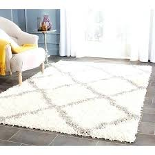 com cozy soft white plush area rug best round rugs bedroom