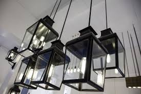 montrose small pendant in black with led bulb edison