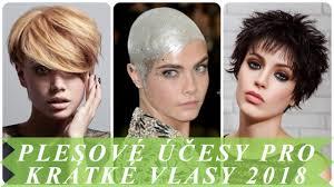 účesy 2018 Polodlouhé Vlasy