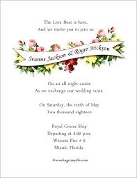 Examples Of Destination Wedding Invitations Combined With Invitation ...