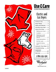 Whirlpool Dryer Red Light Check Vent Whirlpool Dryer Repair Manual Manualzz Com