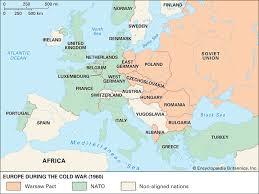 Warsaw Pact Map Purpose Significance Britannica