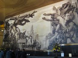 diego rivera murals rockefeller.  Murals Rivera Insisted On Depicting Lenin In Rockefeller Centeru0027s Center A  Capitalist Real Estate Development That Supported Employment The Depths Of Intended Diego Murals K