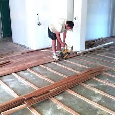 vinyl plank flooring over carpet