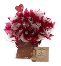 lindor chocolate bouquet with angel photo frame