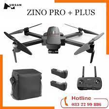 COMBO 2 PIN + BALO ] Flycam Zino Pro Plus Gimbal 3 trục 4K 60fps bay 8km  Thời Gian Bay 43p