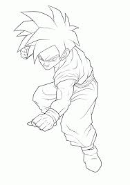 Gohan Coloring Pages Dragon Ball Z Gohan Coloring Pages Coloring ...