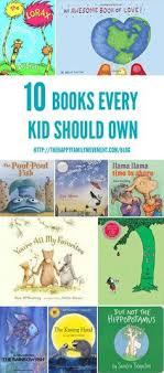 ten books every kids should own i love the pout pout fish next on the list for landon