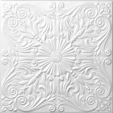 Foam Decorative Ceiling Tile   Astana 50cm X 50cm (~20u0026quot ...