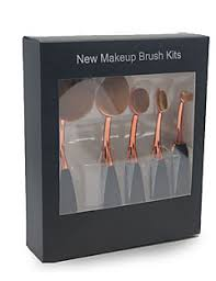 full makeup brush set. 5pcs makeup brush set blush eyeshadow eyeliner concealer foundation synthetic hair full w