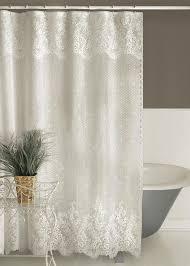 high end bathroom shower curtains. heritage lace floret shower curtain - 2 colors select ecru or white in home \u0026 garden, bath, curtains high end bathroom