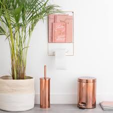 copper coloured bathroom accessories. copper bathroom accessories | maisons du monde coloured .