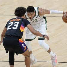 NBA Finals Bucks-Suns: Watch Giannis Antetokounmpo VERY Animated During  Timeout - Sports Illustrated Indiana Pacers news, analysis and more