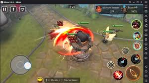 game dota di android burst horde new best moba game 2016