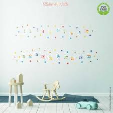 reusable alphabet fabric wall stickers