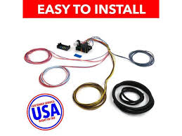 usa wire harness saq232146 18 circuit universal wire harness xy usa wire harness saq232146 18 circuit universal wire harness xy dune buggy chevy street rod rat