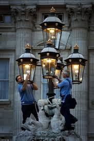 maintainance each gas light lamp is marked with the crest of the monarch in the
