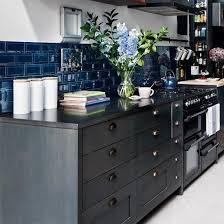 blue kitchen backsplash dark cabinets. Kitchen Of The Day \u2014 MFAMB :: My Favorite And Best Blue Backsplash Dark Cabinets C