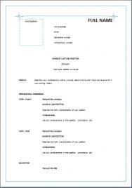Formal Resume Template Unique Reverse Chronological Resume Template Blue Stars Resume Templates