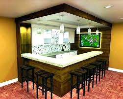 Basement Bar Design Ideas Inspiration Home Bar Designs For Small Spaces Small Bar Interior Design Ideas