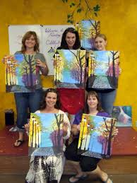 good news painting with a twist in the woodlands texas