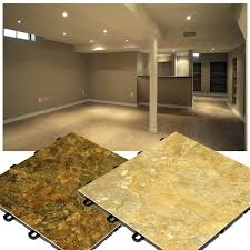 basement flooring ideas and preparation home living ideas backtobasicliving com