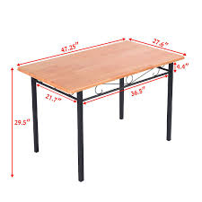 modern steel furniture. Picture Of Dining Kitchen Table Modern Furniture Bistro Wood Steel Frame A