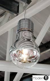 Giant Light Bulb Lamp Contemporary Chrome Large Light Bulb Chandelier Funky Light Bulb