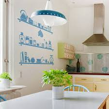 Wall Decorations For Kitchen Kitchen Wall Ideas With Hanging Lamp 1938 Baytownkitchen