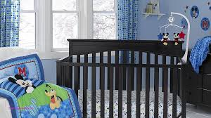 disney baby mickey mouse best friends blue 3 piece crib