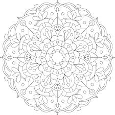 Coloring Pages Mandala Coloring Pages Online Free Inspiring Idea