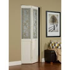 AWC Giverny Decorative Glass  X  Bifold Door Walmartcom - Bifold exterior glass doors